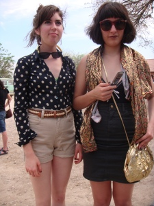 Hipster girls at the South by Southwest festival in Austin, Texas (image courtesy Todd Dwyer).