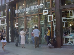 Urban Outfitters is perhaps the most prominent retailer targeting a hipster demographic (image courtesy Malingering).