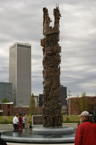 Tulsa's John Hope Franklin Reconciliation Park in 2010 (image courtesy imarcc).
