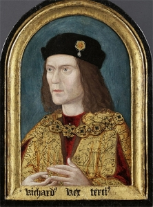 The earliest surviving portrait of Richard III shows him in about 1520.