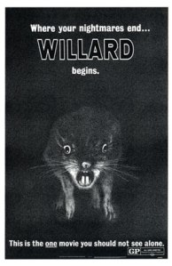 Few animals can match the symbolic terror inspired by rats like WIllard.
